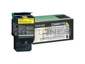 Lexmark 0C540H1YG - Cartouche toner jaune originale xl