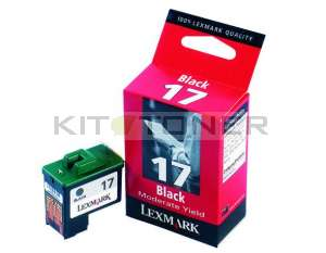 Lexmark 10NX217E - Cartouche d'encre noire origine n°17