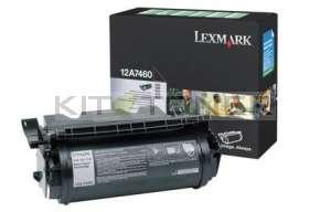 Lexmark 12A7460 - Cartouche de toner noir original