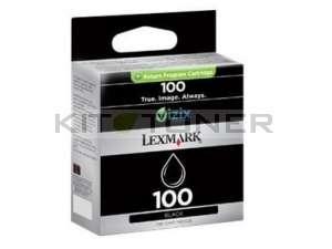 Lexmark 14N0820E - Cartouche d'encre noire de marque 100