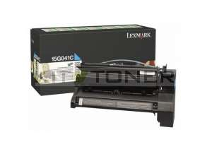 Lexmark 15G041C - Cartouche de toner cyan original