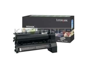 Lexmark 15G042K - Cartouche de toner noir de marque
