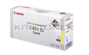 Canon 1657B006 - Cartouche toner d'origine jaune CEXV26