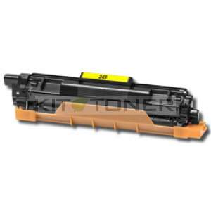 Brother TN243Y Jaune - Cartouche de toner compatible
