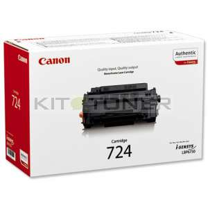 Canon 3481B002AA - Cartouche toner d'origine Canon 724