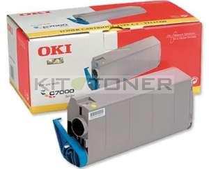 Oki 41963005 - Cartouche de toner jaune d'origine