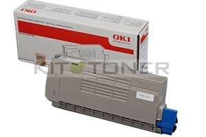 Oki 44318608 - Cartouche de toner noire d'origine