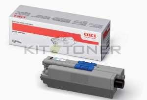 Oki 44469803 - Cartouche de toner noire d'origine