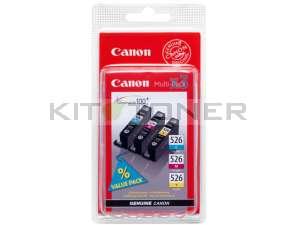 Canon 4541B006 - Pack de 3 cartouches encre couleur