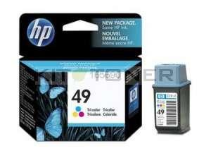 HP 51649A - Cartouche d'encre couleur de marque 49