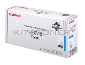Canon 7628A002 - Cartouche toner d'origine cyan CEXV8