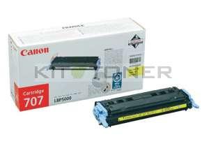 Canon 9421A004 - Cartouche toner d'origine jaune 707