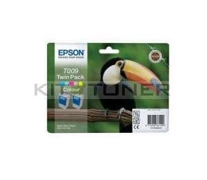Epson C13T009402 - Pack 4 cartouches d'encre Epson T009402