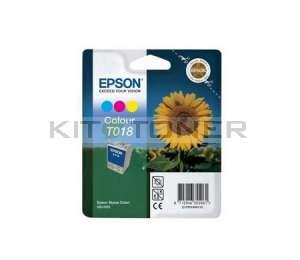 Epson C13T018401 - Cartouche d'encre couleur de marque T018401