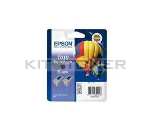 Epson C13T019402 - Pack combo de 2 cartouches d'encre de marque T019402