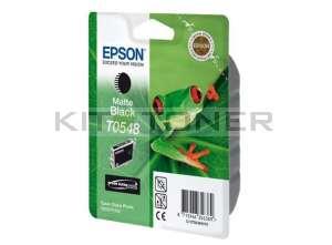 Epson C13T05484010 - Cartouche d'encre noire mat originale T0548