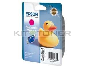 Epson C13T05534010 - Cartouche d'encre magenta originale T0553