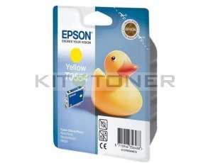Epson C13T05544010 - Cartouche d'encre jaune originale T0554