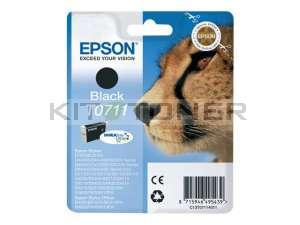 Epson C13T07114011 - Cartouche d'encre Durabrite noire T0711