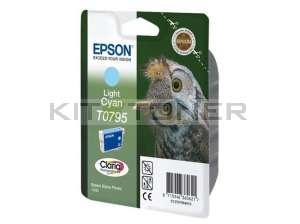 Epson C13T07954010 - Cartouche d'encre Epson Claria cyan clair T0795