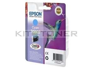 Epson C13T08024011 - Cartouche d'encre Epson Claria cyan T0802