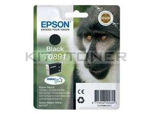 Epson C13T08914011 - Cartouche d'encre noire de marque Epson T0891