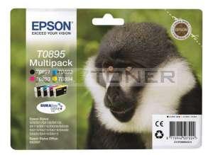 Epson C13T08954011 - Pack de 4 cartouches d'encre de marque Epson T0895