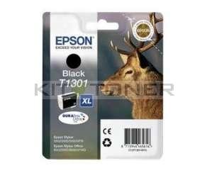 Epson C13T13014010 - Cartouche d'encre Durabrite noire XL T1301