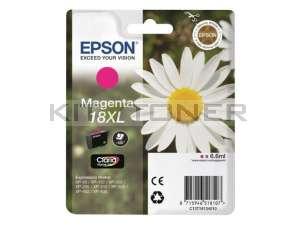 Epson C13T18134010 - Cartouche d'encre magenta Epson T1813