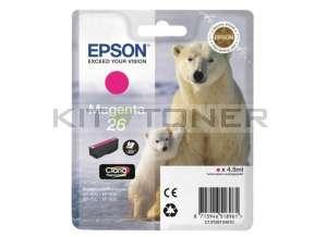 Epson C13T26134010 - Cartouche d'encre magenta d'origine T2613