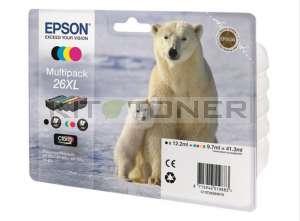 Epson C13T26364010 - Pack de 4 cartouches d'encre Epson 26xl