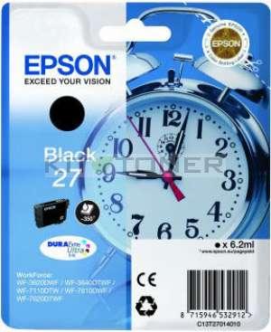 Epson C13T27014010 - Cartouche d'encre noire d'origine Epson 27