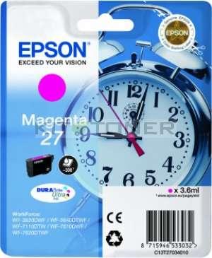 Epson C13T27034010 - Cartouche d'encre magenta d'origine Epson 27