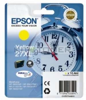 Epson C13T27144010 - Cartouche d'encre jaune d'origine Epson 27XL