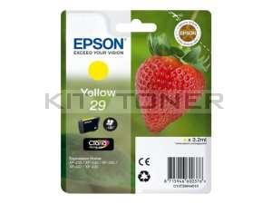 Epson C13T29844010 - Cartouche d'encre jaune 29 d'origine