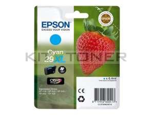 Epson C13T29924010 - Cartouche d'encre cyan 29XL d'origine