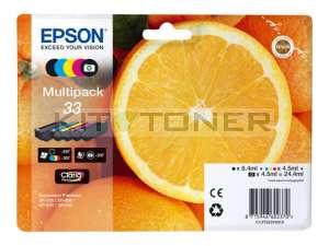 Epson C13T33374010 - Multipack 33 d'encre d'origine