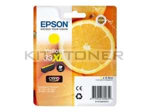 Epson C13T33644010 - Cartouche d'encre jaune 33XL d'origine
