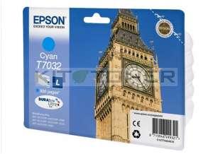 Epson C13T70324010 - Cartouche d'encre cyan Epson T7032