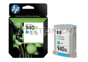 HP C4907AE - Cartouche d'encre cyan originale 940XL