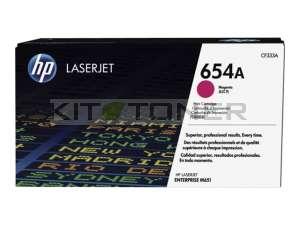 HP CF333A - Cartouche de toner magenta d'origine 654A