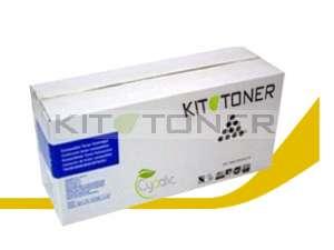 Oki 43487709 - Cartouche de toner jaune compatible