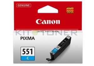 Canon CLI551C - Cartouche d'encre cyan de marque 6509B001
