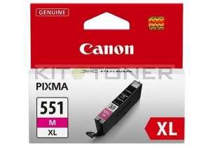 Canon CLI551M XL - Cartouche d'encre magenta de marque 6445B001