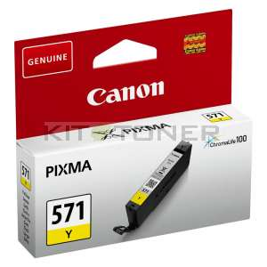 Canon CLI571Y - Cartouche d'encre jaune de marque