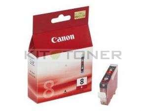 Canon CLI8R - Cartouche d'encre origine rouge 0626B001