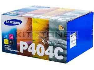 Samsung CLTP404C - Pack de 4 toners originaux