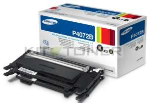 Samsung CLTP4072B - Pack de 2 toners d'origine noirs