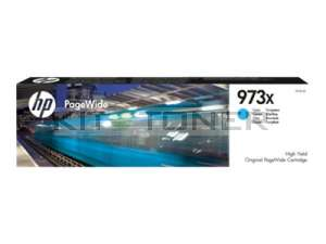 HP F6T81AE - Cartouche d'encre d'origine cyan 973X