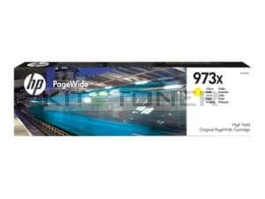 HP F6T83AE - Cartouche d'encre d'origine jaune 973X